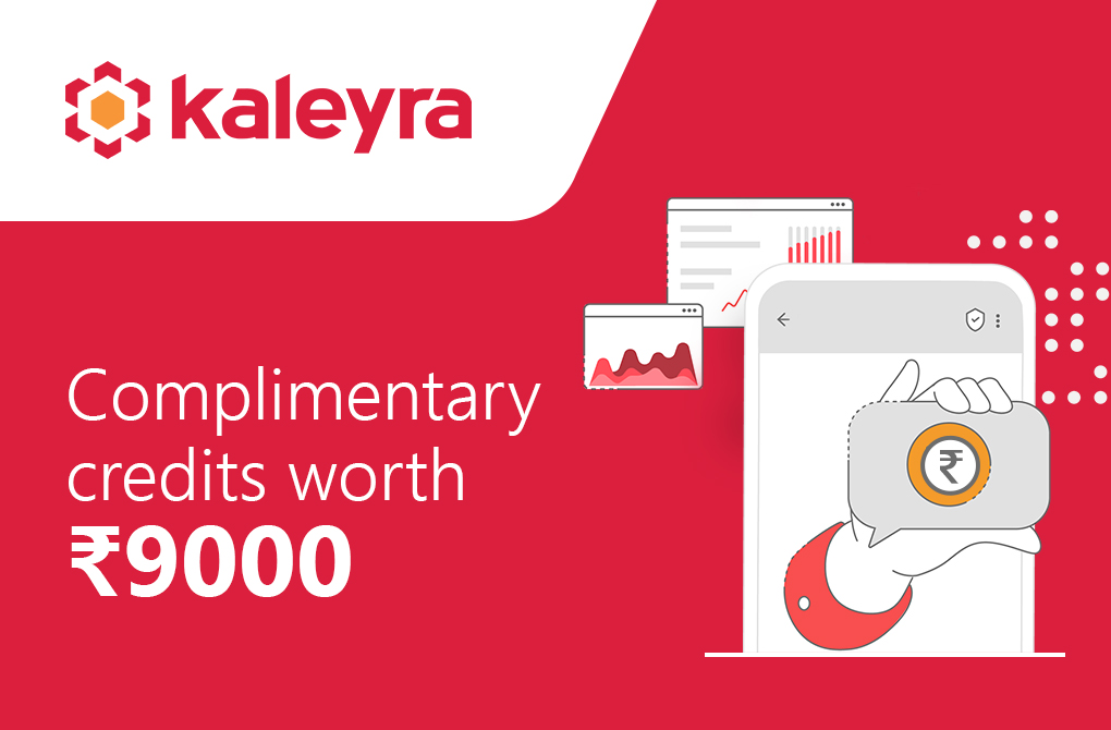 Get free credits worth Rs.9000