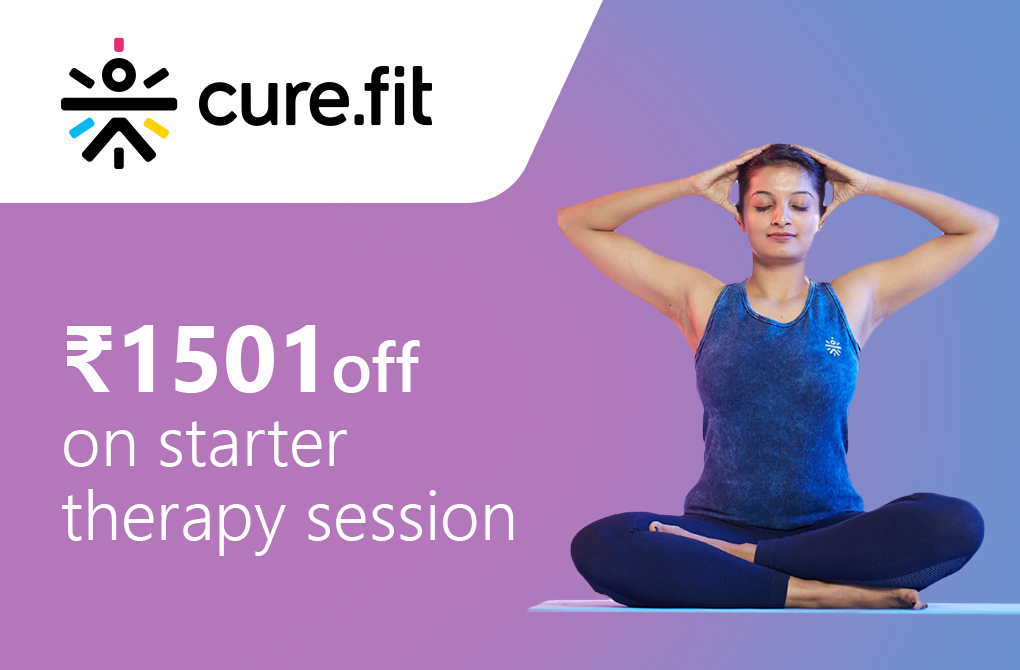 Get Rs.1501 off on Therapy Sessions