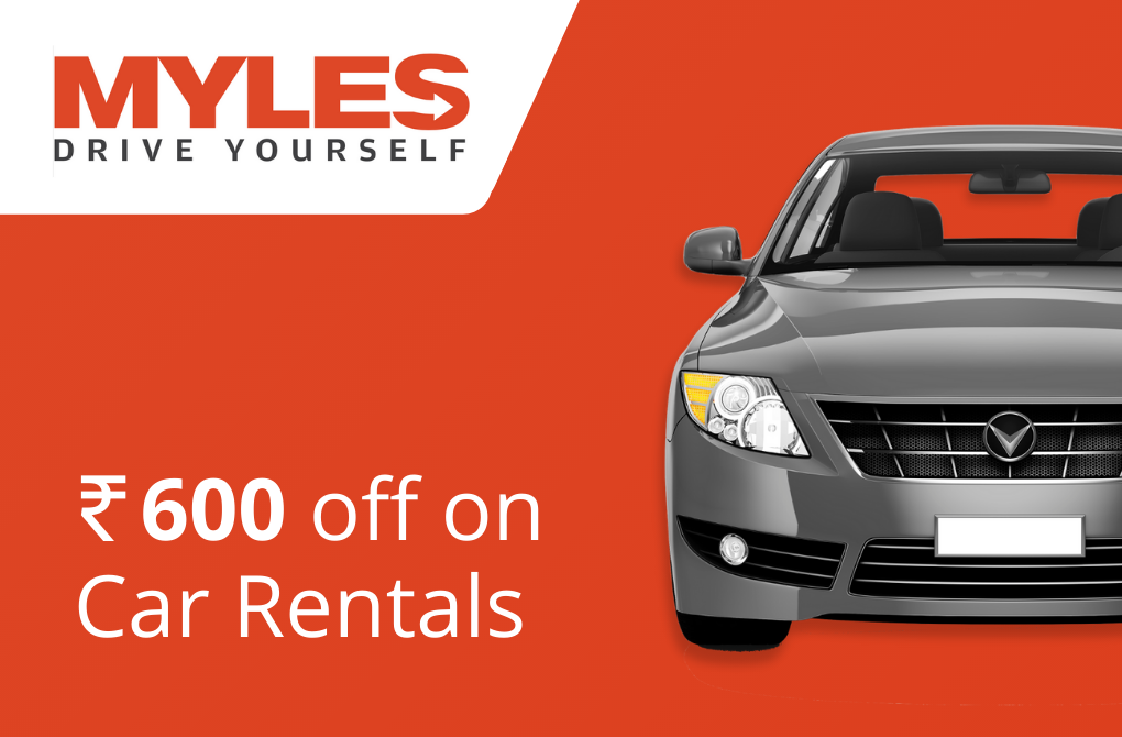 Get Rs.600 off from Myles