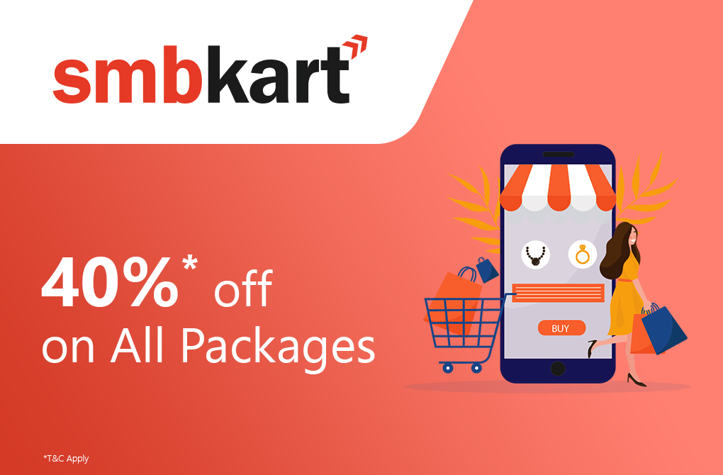 Get 40% off from SMB Kart