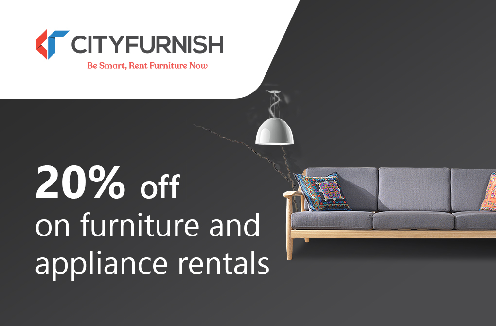 20% off on Monthly Rental