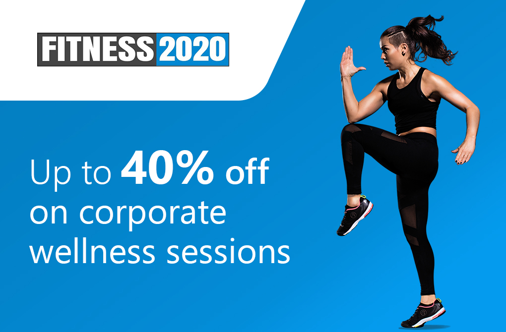 Upto 40% off on Corporate Wellness Sessions