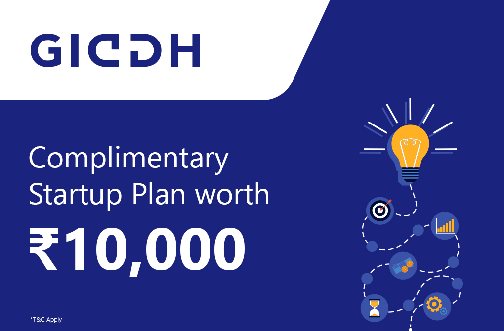 Get the startup plan free from Giddh