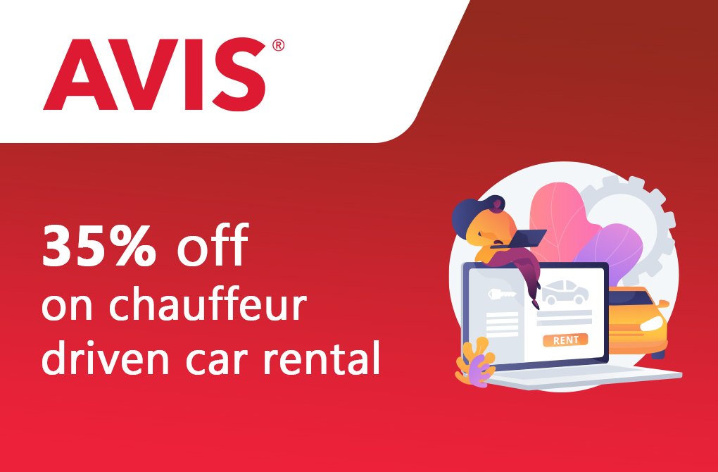 Up to 35% off on Avis Chauffer-Driven Car Rentals
