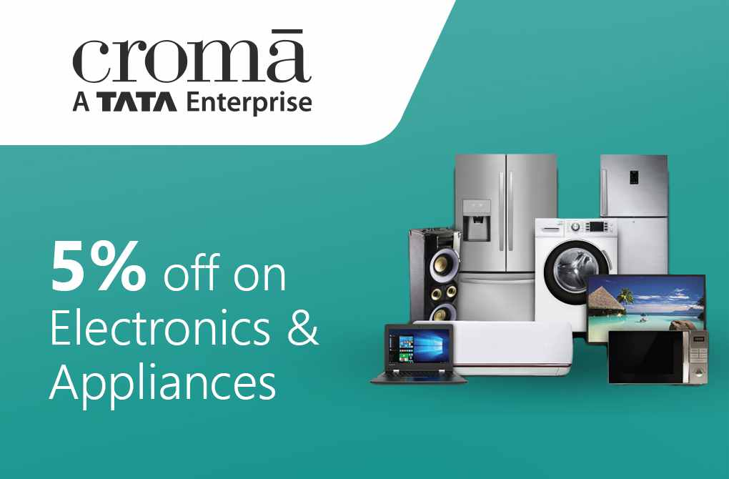 Get 5% off upto Rs.500