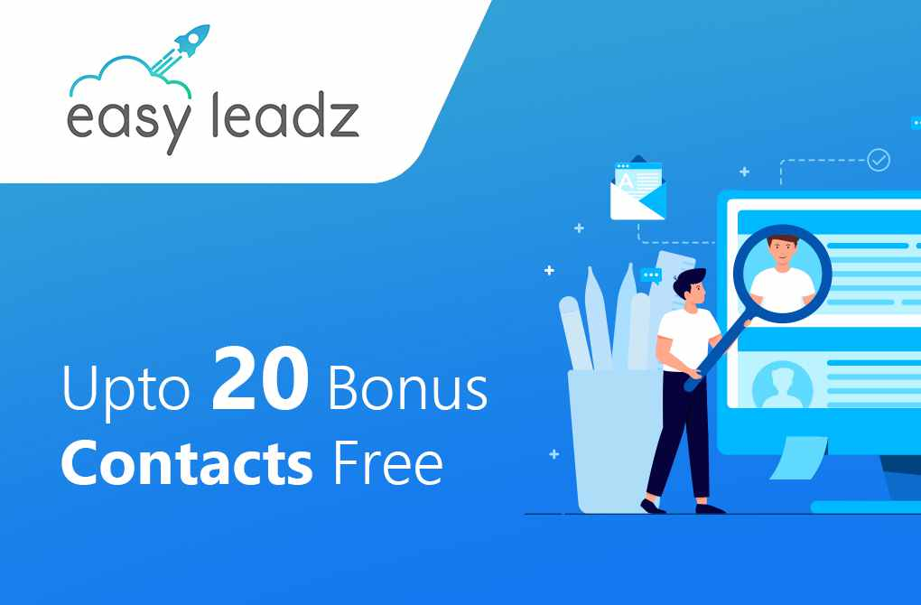 Upto 20 bonus contacts