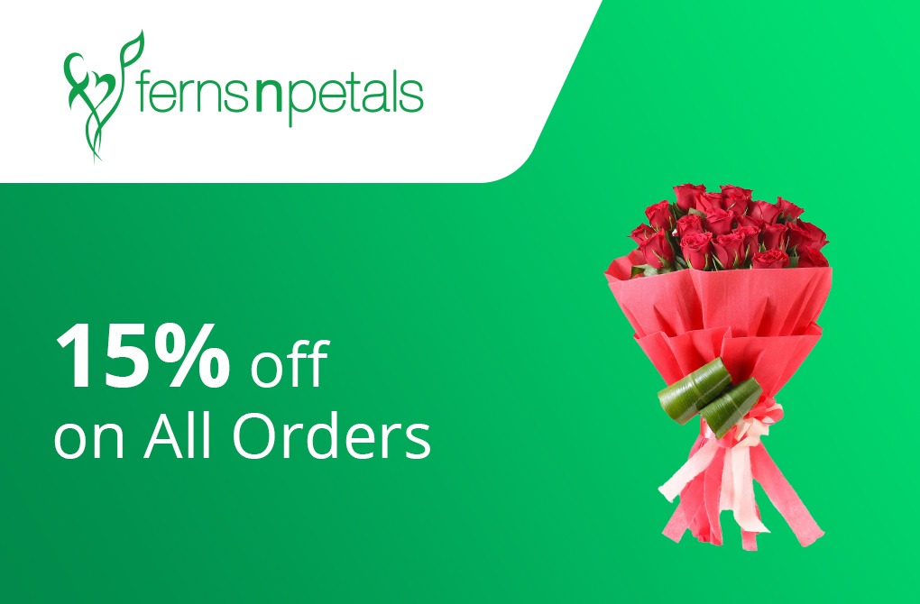 15% off upto Rs.1000 on All Orders