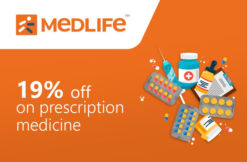 Get 19% off from MedLife