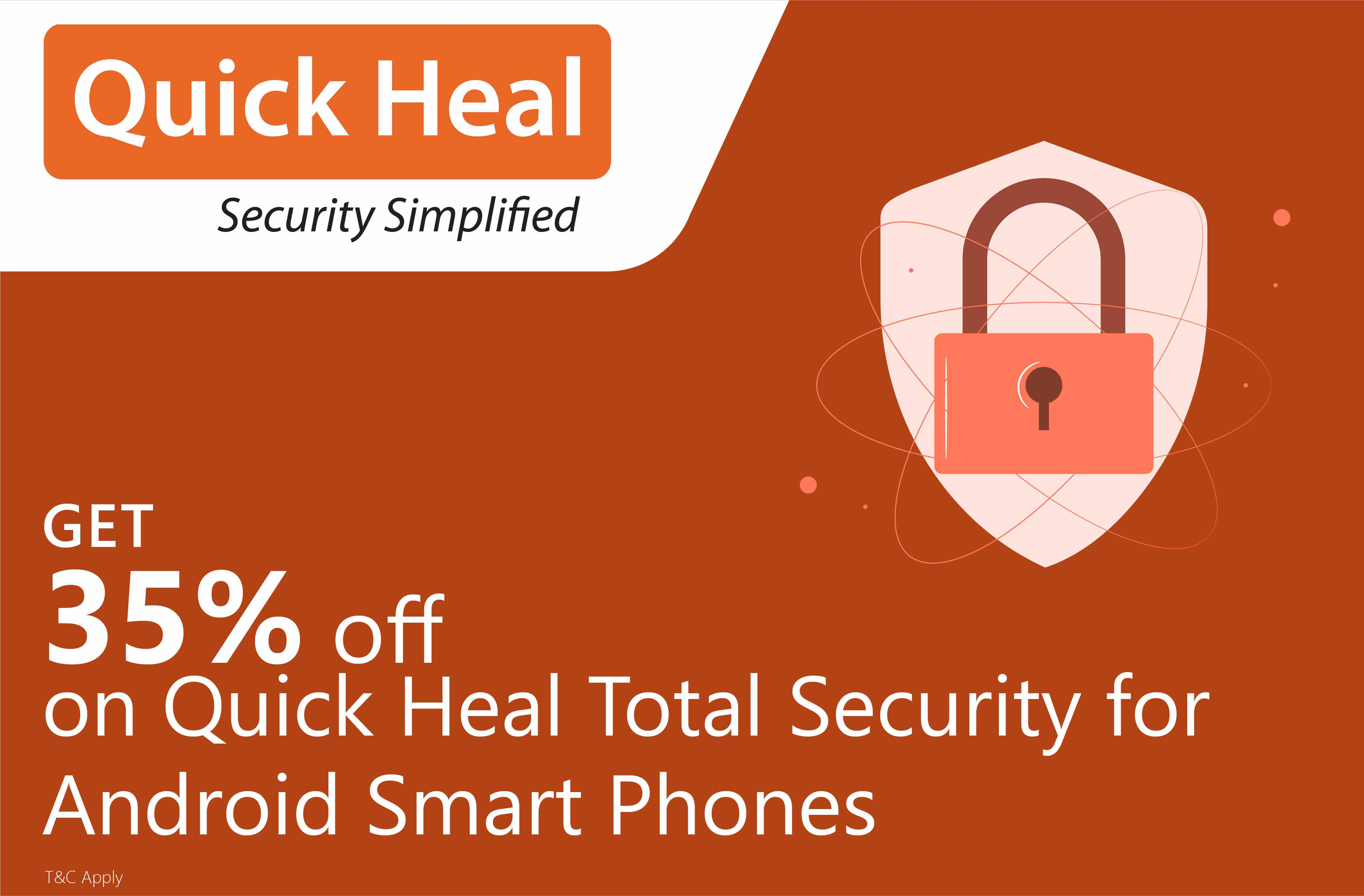 Get 35% off on Quick Heal Total Security for Android Smartphones