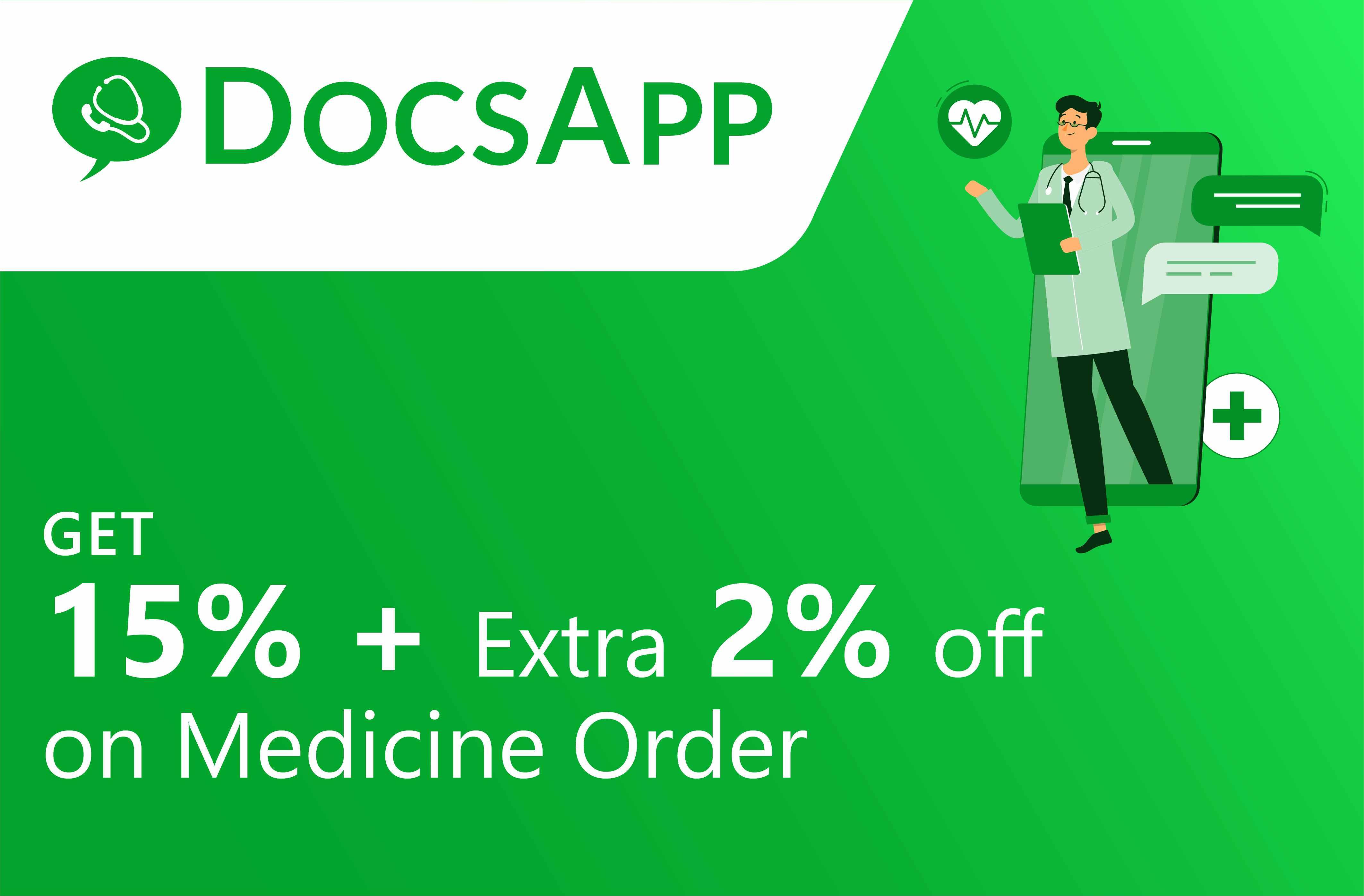 Upto 17% off on Medicine Orders