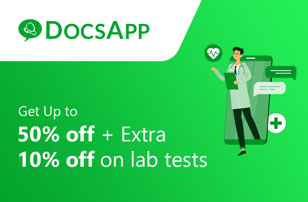 Up to 60% off on Lab Test Bookings