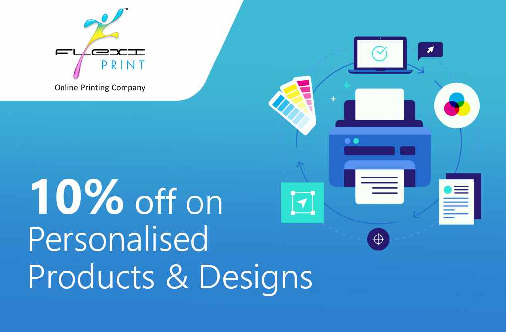 10% off on Personalised Products and on Custom Designing