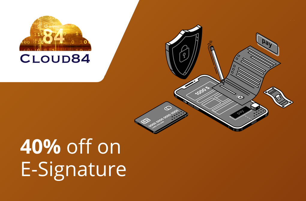 Get 40% off from Cloud84