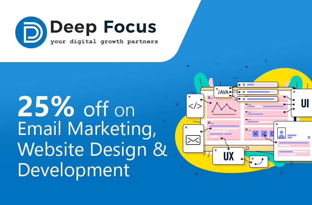 Get 25% off from Deep Focus