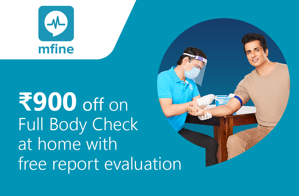 Rs.900 off on At-home Full Body Check