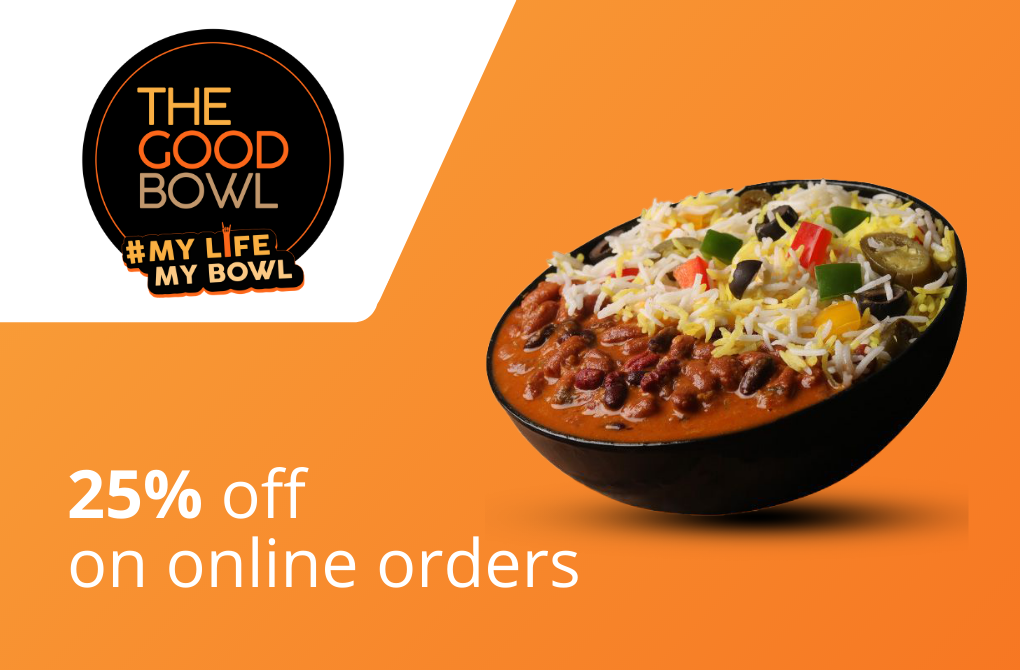 25% off from The Good Bowl