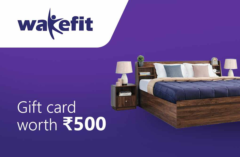 Flat Rs.500 off on a minimum purchase of Rs.8000