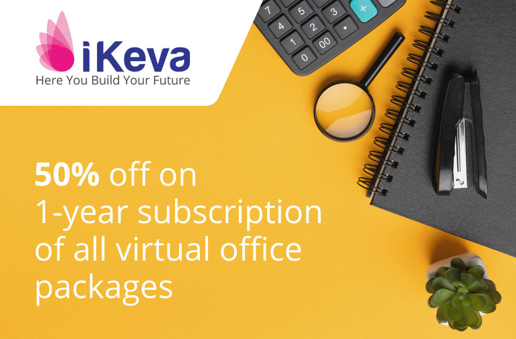 50% off from iKeva on Virtual Offices