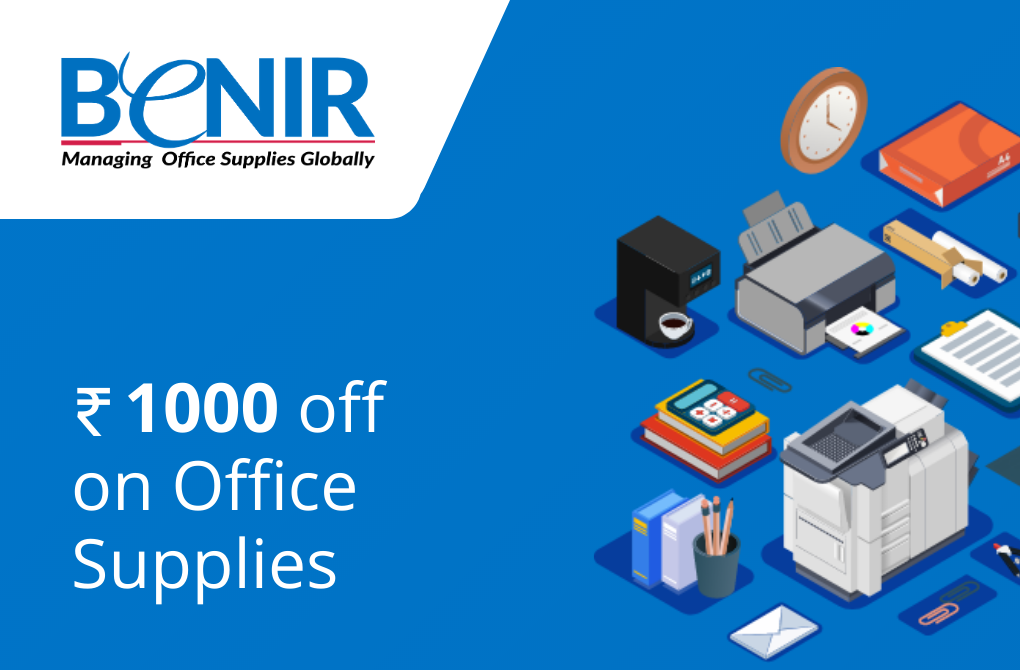 Rs.1000 off from Benir