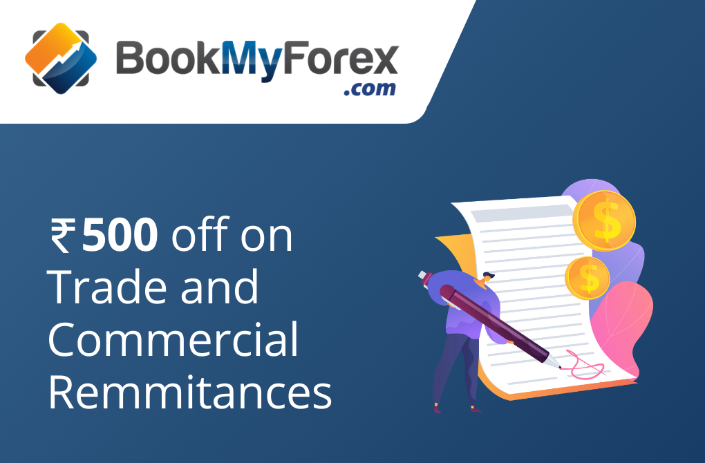 Get Rs.500 off from BookMyForex.com