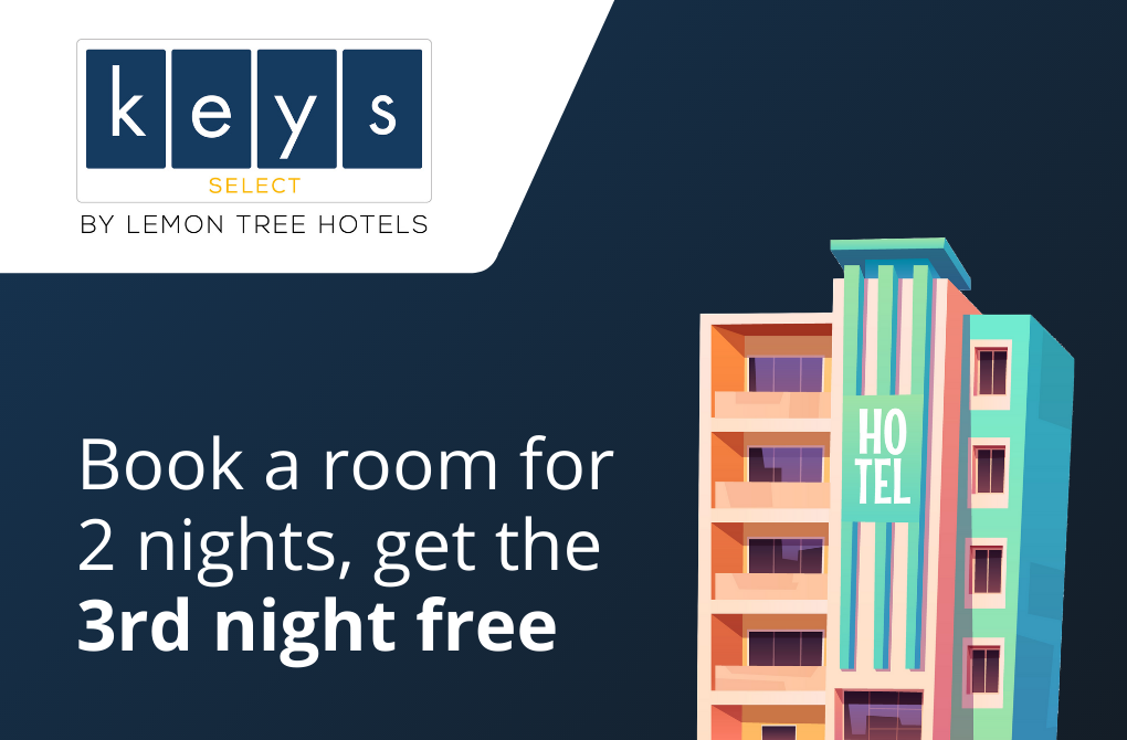 Get 1 night stay complimentary from Keys Select