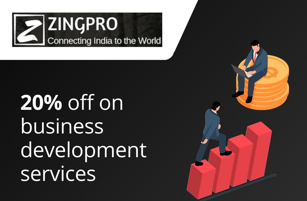 Get 20% off from ZingPro