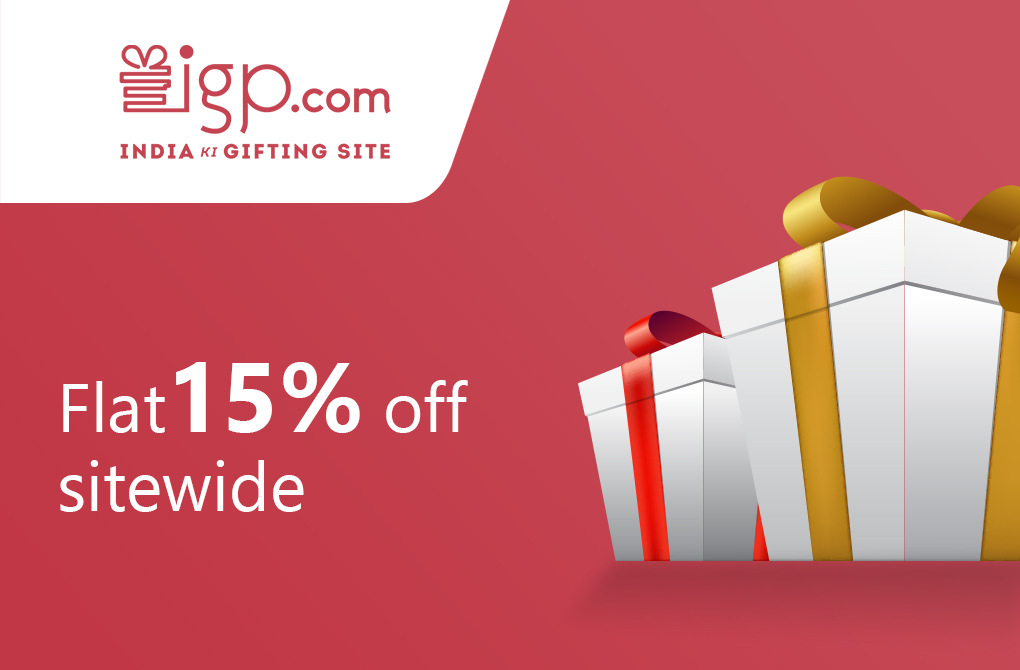Get 15% off from igp.com